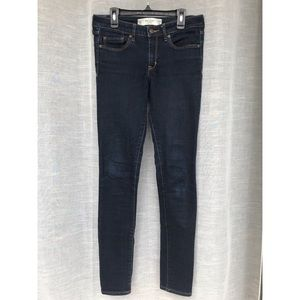 Abercrombie & Fitch Super Skinny Jeans Dark Wash